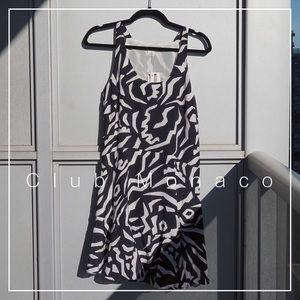 NWT Club Monaco 100% Silk Leslan Dress Size 4